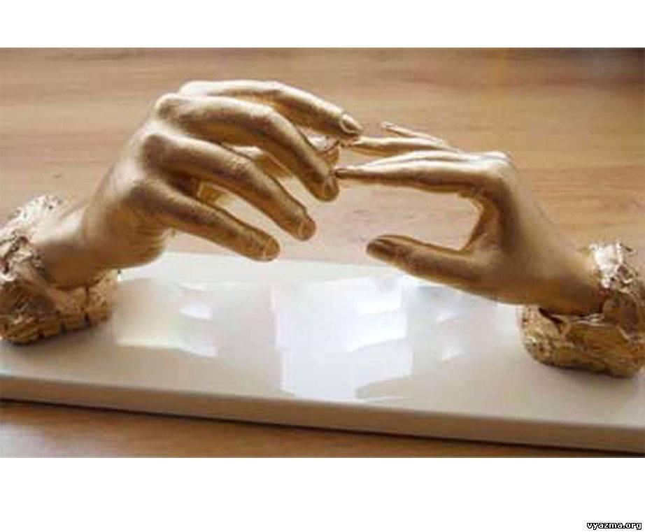 Как сделать слепки рук